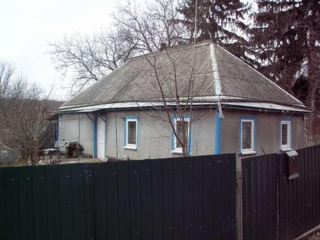 Кагарлык. Небольшой дом в тихой улочке.