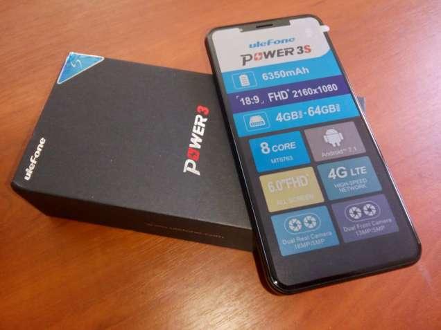 "Мощный Ulefone Power 3S с батареей 6350 мАч, 6""FHD+, 4GB/64GB"