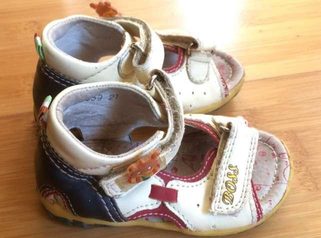 Продам босоножки, сандалии на девочку или мальчика 21 размера