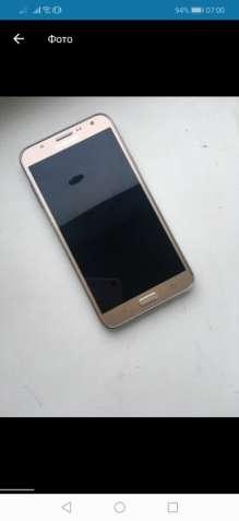Смартфон Samsung Galaxy J7 2016 duos gold