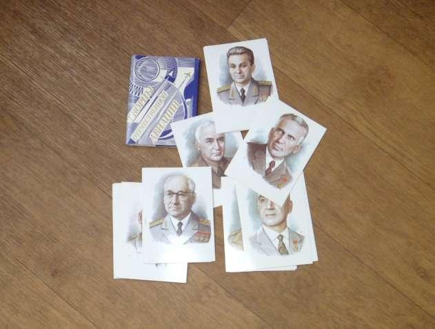 Творцы отечественной авиации. Набор открыток. Автор: А.Кручина. 1989
