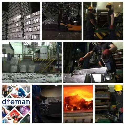 Разнорабочие мужчины на завод по изготовлению запасных частей для груз