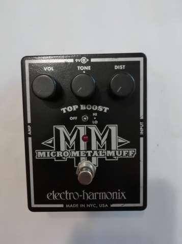 Педаль ефектів Electro-harmonix micro metal muff