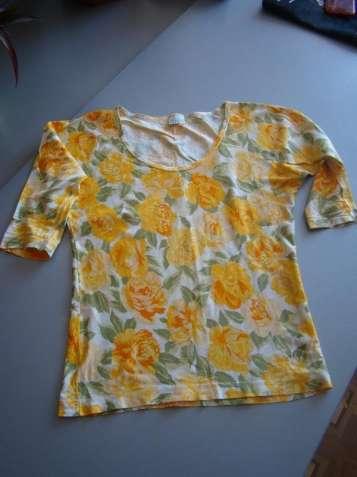 Блуза с цветочным принтом от benetton