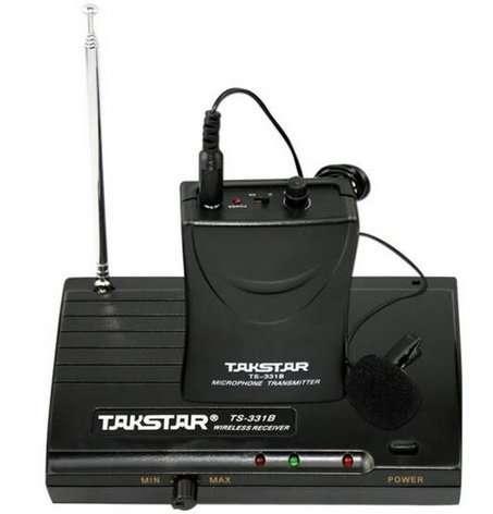 Новый Петличный Радиомикрофон TAKSTAR TS-331P -Лучшая цена, Гарантия!