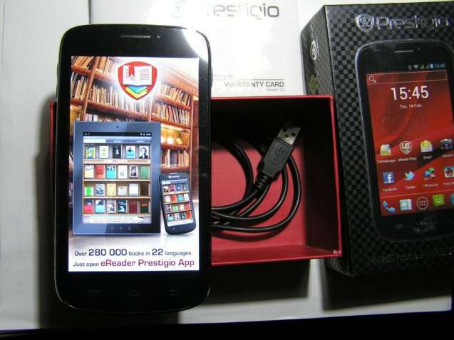 Prestigio Multiphone Pap5000duo Black