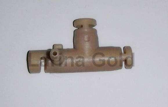 Корпус крана пара Gaggia Titanium, Saeco Incanto (пластик) 148440150