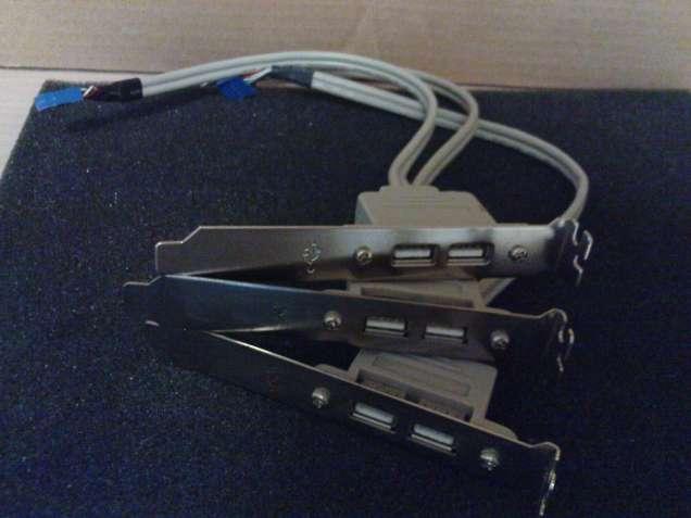 Продам выносные USB порты материнской платы в тыльную, переднюю панели