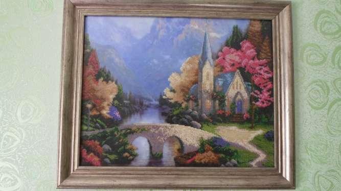 Продам картину вышутую чешским бисером.