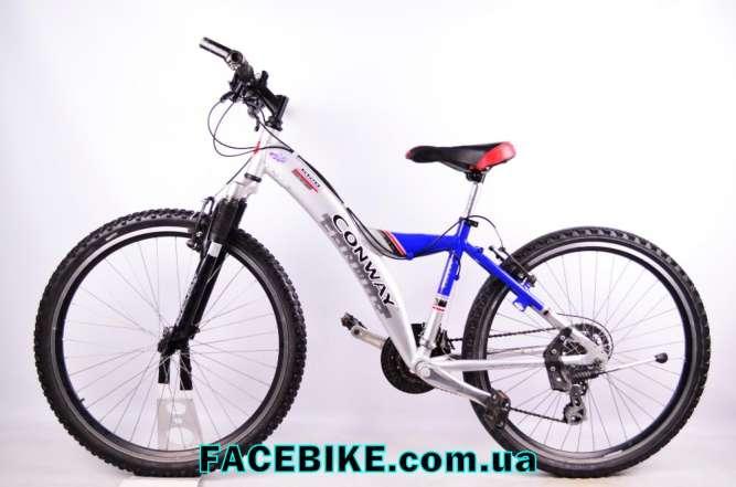 БУ Горный велосипед Conway-Гарантия,Документы-Акции,Скидки-30%