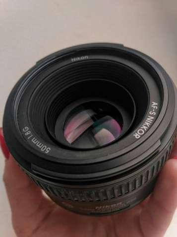 Продам фотообъектив Nikon AF-S Nikkor 50mm f/1.8G