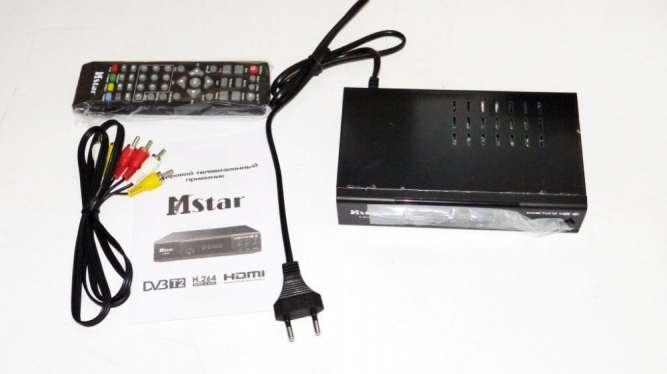 Mstar M-6010 Внешний тюнер DVB-T2 USB+HDMI с возможностью подключить W - изображение 3