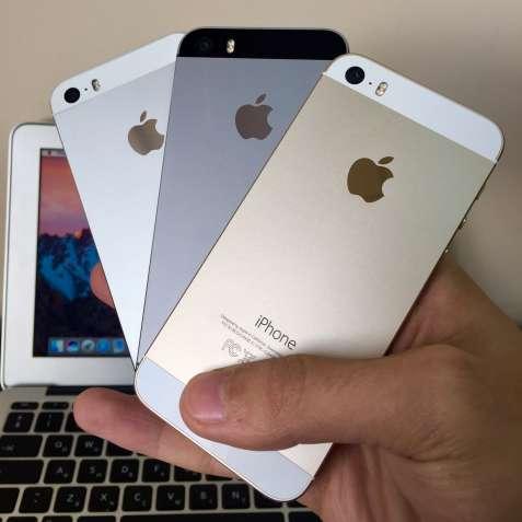 iPhone 5S Space Gray Silver Gold (Айфон 5С Чорний Білий Золотий)