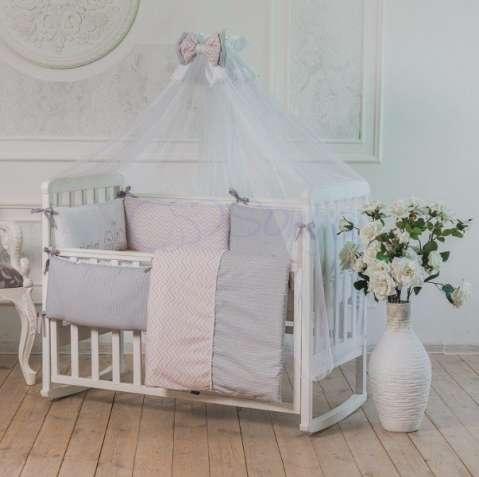 Комплект постельного Mi-mi розовый