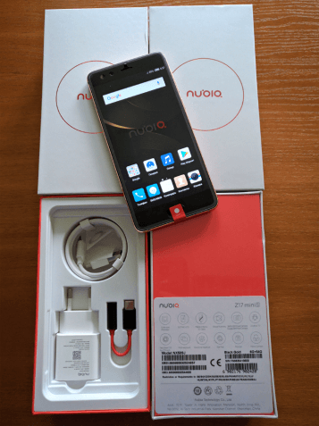 "6+64GB NFC ZTE NUBIA Z17 mini S 5.2"" Snapdragon 653 Глобал/Чехол Стекл"
