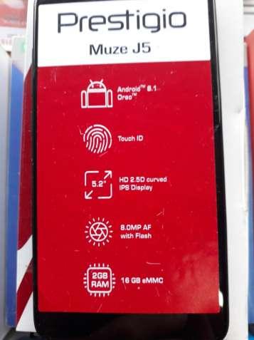 Продам не дорого новый смартфон Prestigio Muze J5.
