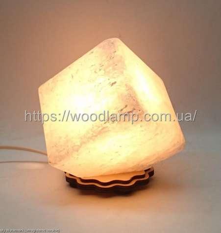 Соляной светильник Куб, лампа, ночник