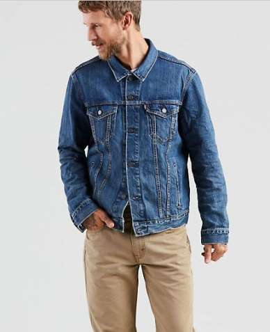 Куртка джинсовая LEVIS Trucker Jacket THE SHELF - LIGHT WASH  M,L