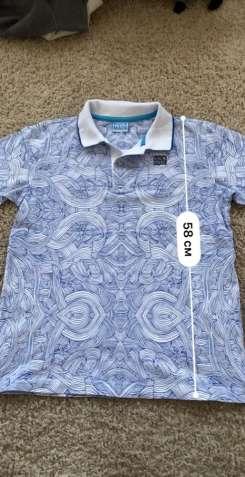 Детская футболка / поло . Рост 152  - 154