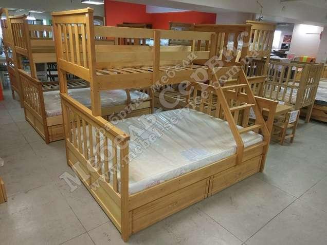 Двухъярусная кровать Олигарх Эко Бук