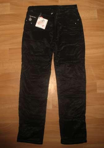 Черные брюки на флисе. Девочкам.