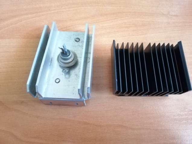 Радиаторы с тиристором КУ202Н