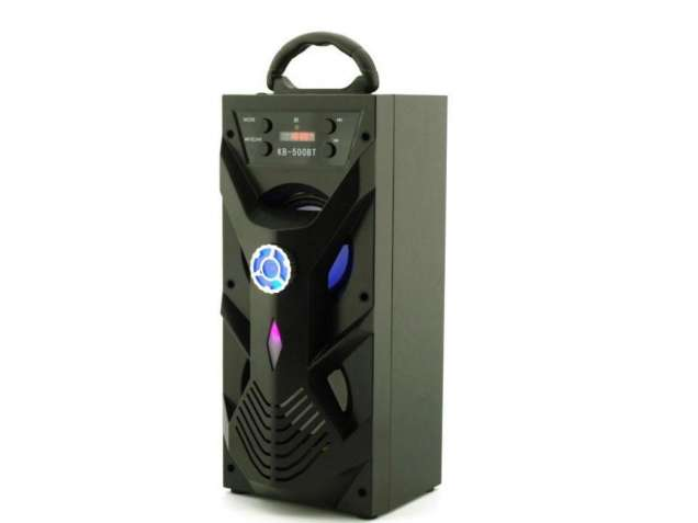 Cтерео колонка портативная с Bluetooth KB-500BT USB, FM, караоке