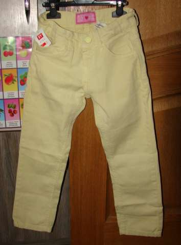 Джинсы брюки ZY 116-122 р., на 6-7 лет