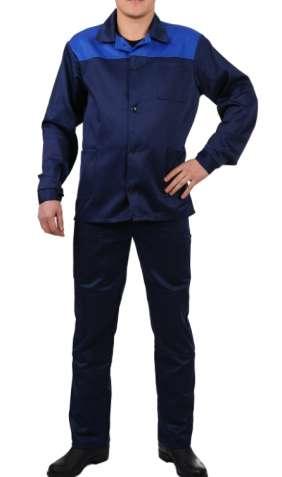 Рабочий костюм эконом вариант, брюки, куртка