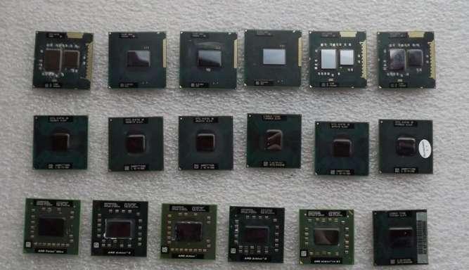 Процессоры для ноутбуков разные.