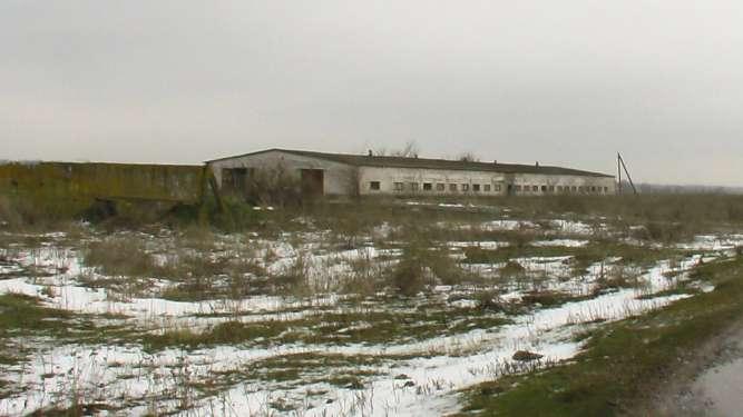Помещение бывшей фермы (склад)