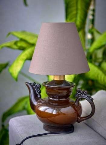 оригинальная настольная лампа, хенд-мейд