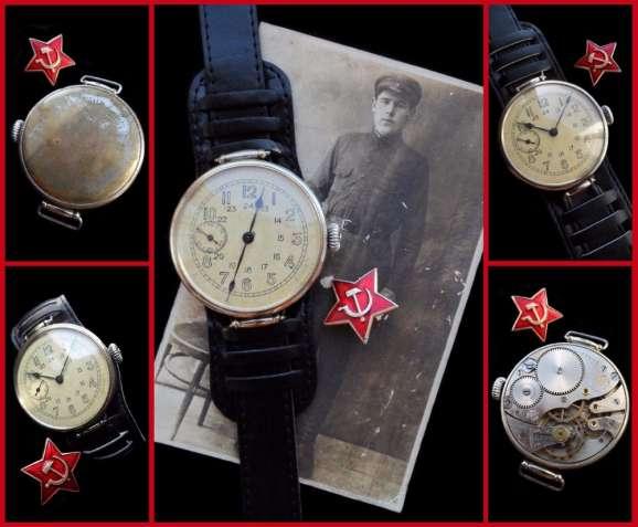 ЧАСЫ ВЕЛИКОЙ ОТЕЧЕСТВЕННОЙ ВОЙНЫ, АУТЕНТИЧНЫЕ, СССР 1938г. механика