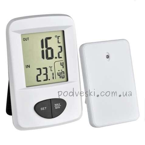 Цифровые термогигрометры комнатные и уличные Германия
