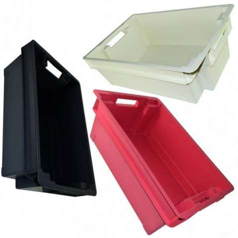Ящик складской пластиковый для продуктов