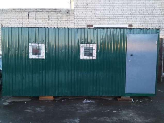 Бытовка строительная 6-метров(буржуйка)Цена 24,000.Доставка по Украине
