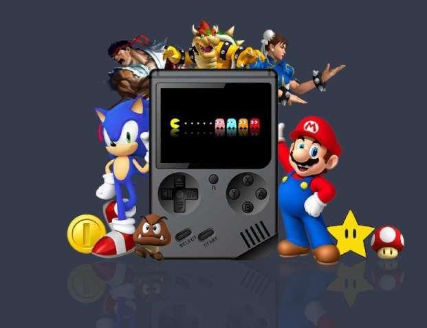 Игровая консоль Optima Game Box RS777