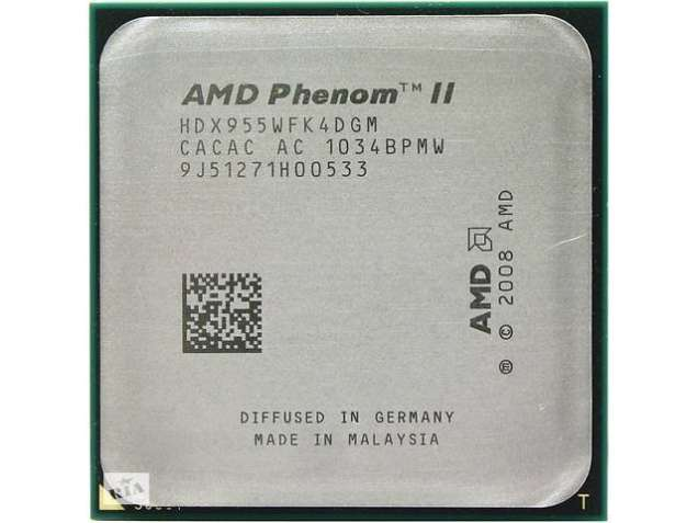 AMD Phenom II X4 955 Black 3.2GHz sAM3