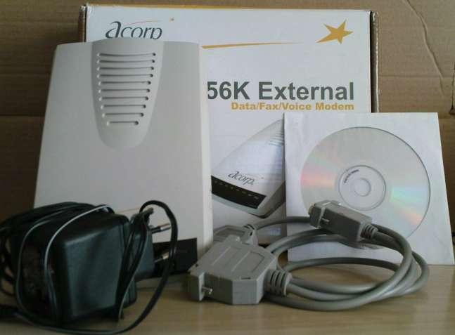 Продам внешний факс-модем Аcorp