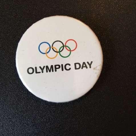 Значок Olimpic Day