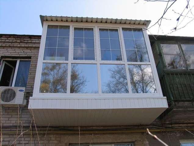 Обшивка балкона Киев и область
