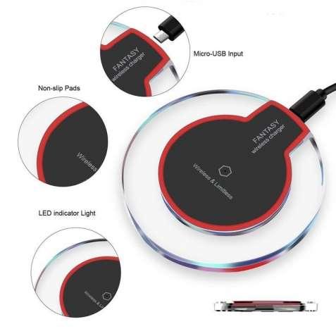 Беспроводная зарядка, iPhone X ,8,8 plus,Samsung galaxy s7,s8, s9