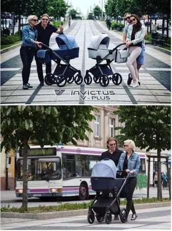 Детская коляска Invictus V-Plus 2 в 1  НОВАЯ