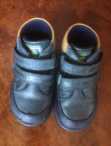 Ботинки демисезонные – натуральная кожа – размер 21