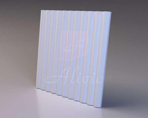Гипсовые 3D панели Alivio серия Linea от производителя