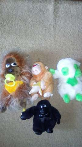 Лот мягких игрушек