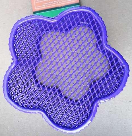 Металлическая подставка-стаканчик для ручек ZiBi Цветок Фиолетовая - изображение 4
