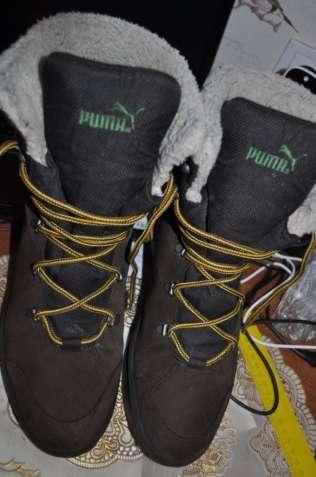 Крутые ботинки зима puma geor-tex slovakia оригинал
