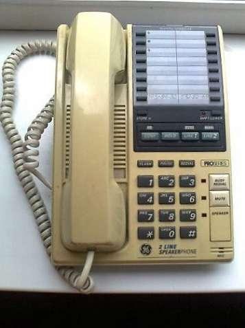телефон General Electric 2-9420 (2-х линейный)