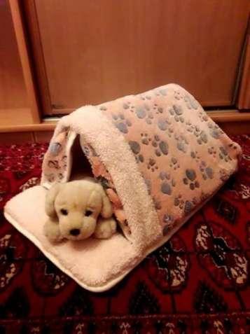 Лежанка, домик, плед, место для котов и собак.